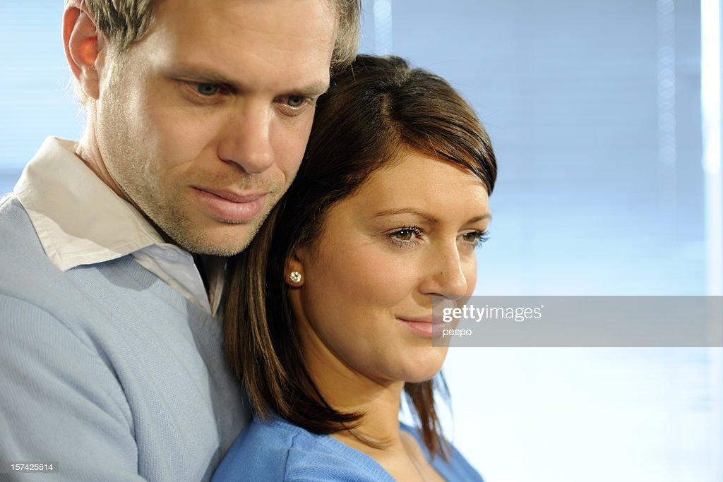 attractive couple : Stock Photo