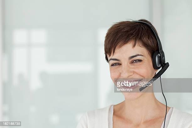 Attraktive Kundenservice Representive