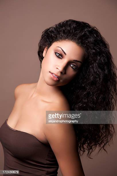 Attractive ethnic woman
