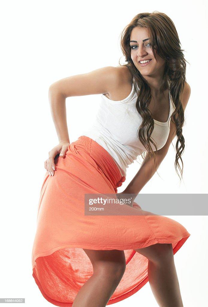 Attractive Happy Woman
