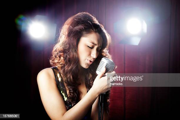 Attractive Hispanic Female Singer