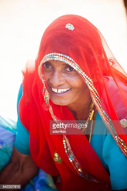 Attractive Indian Woman Portrait