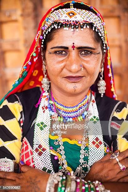 Attractive Indian Woman Portrait