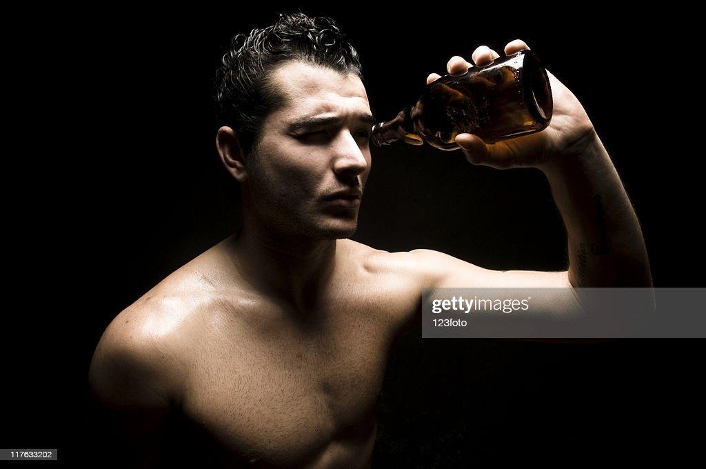 attractive man : Stock Photo