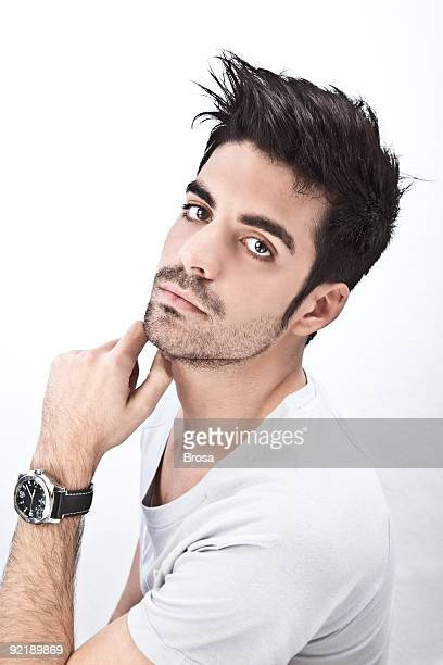 Attractive man portrait