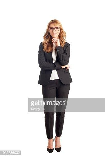 Attractive mature businesswoman : Foto de stock