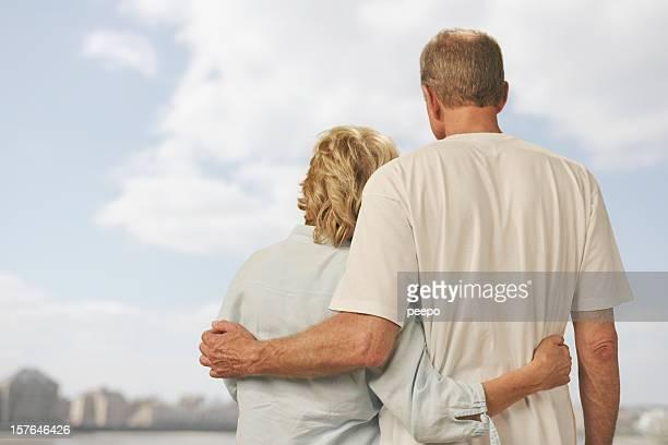 Attraktive Älteres Paar