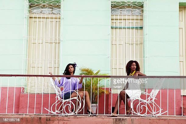 Belles femmes de Trinité et de Cuba