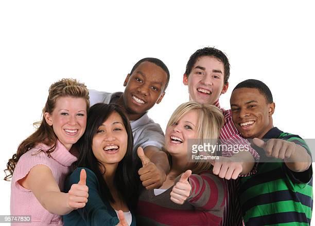 Attraktive junge Erwachsene