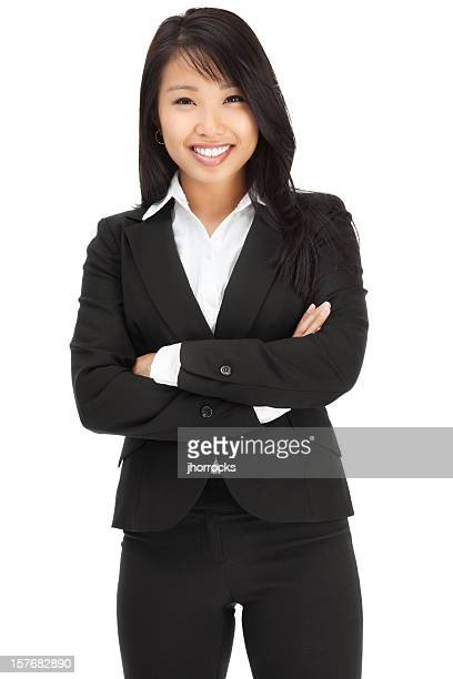 Attractive Young Asian Businesswoman
