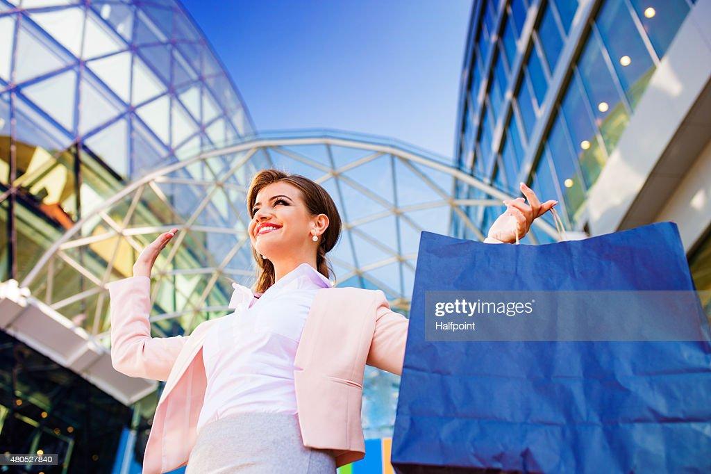 魅力的な若いビジネス女性 : ストックフォト