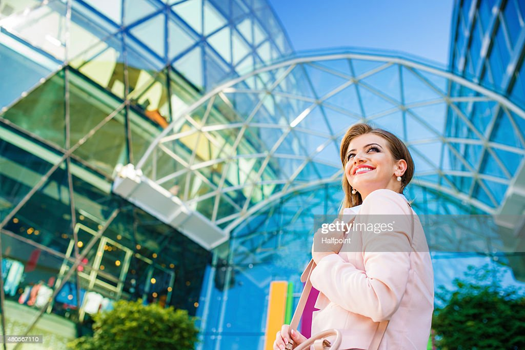 Attractive young business woman : Stock Photo