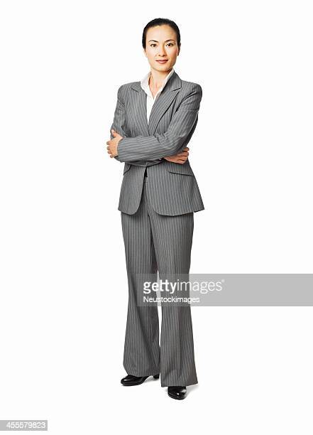 Attractive Young Businesswoman - Isolated