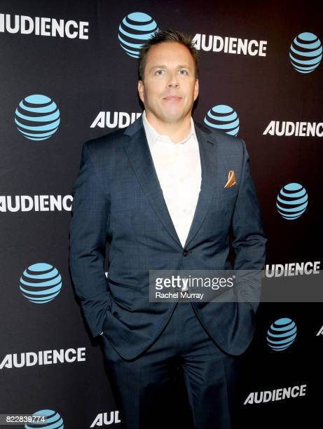 Ts Audience Network Chief Chris Long attends the ATT AUDIENCE Network premiere of 'Mr Mercedes' during the ATT AUDIENCE Network Summer 2017 TCA Panel...