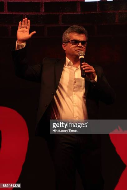 Atul Khatri of East India Company Group of Indian Standup Comedians at a party hosted by Daikin to celebrate the three years of togetherness with...