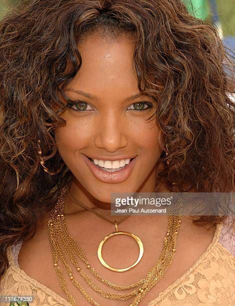 KD Aubert during 2007 Silver Spoon MTV Movie Awards Gifting Suite Day 1 in Los Angeles California United States Photo by JeanPaul Aussenard/WireImage...