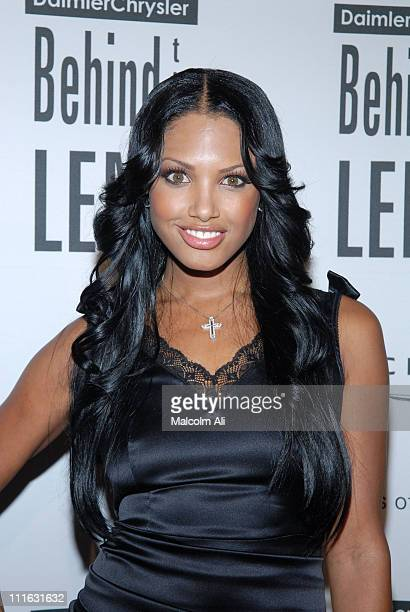 KD Aubert during DAIMLERCHRYSLER Celebrates Fifth Anniversary of 'BEHIND THE LENS' Award at Beverly Hilton in Beverly Hills CA United States