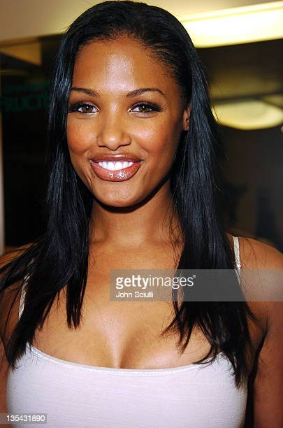 KD Aubert during Garnier Fructis Presents the Fred Segal Beauty Maxim Magazine Hot 100 Salon at Hard Rock Hotel Casino in Las Vegas Nevada United...