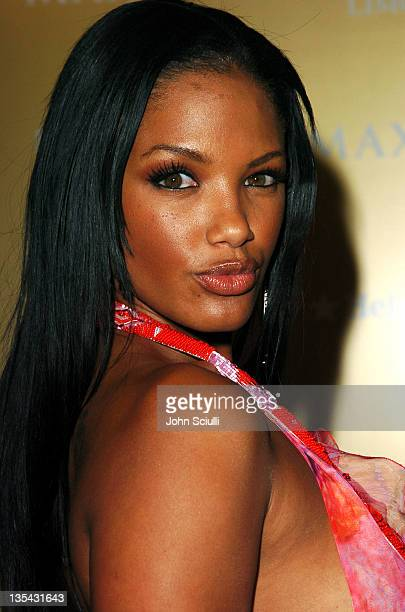 KD Aubert during Maxim Magazine Hot 100 Party in Celebration of the Grand Opening of Body English In the Hard Rock Hotel Casino Red Carpet at Hard...