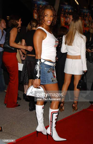 KD Aubert during 'Scary Movie 3' Premiere Arrivals at AMC Theatres Avco Cinema in Westwood California United States