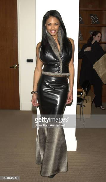 KD Aubert during Sotheby's Hosts Celebrity Heart Pendant Auction at Sotheby's in Beverly Hills California United States