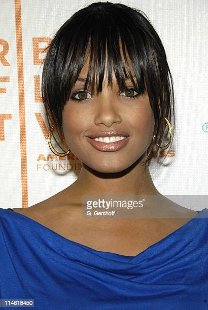KD Aubert during The 6th Annual Tribeca Film Festival 'The Grand' Premiere at Tribeca Performing Arts Center in New York City New York United States