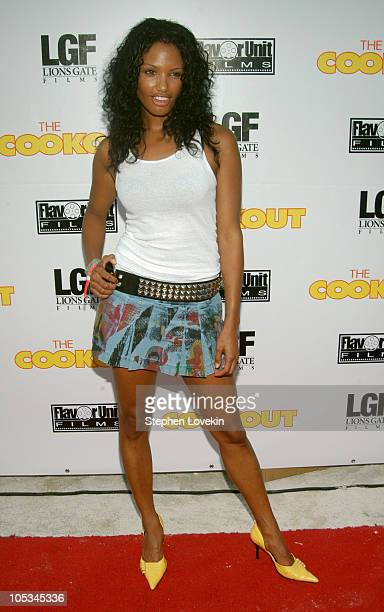 KD Aubert during 'The Cookout' Miami Premiere at Delano in Miami Flordia United States
