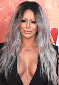 Aubrey O'Day arrives at the 2015 iHeartRadio Music Awards at The Shrine Auditorium on March 29 2015 in Los Angeles California