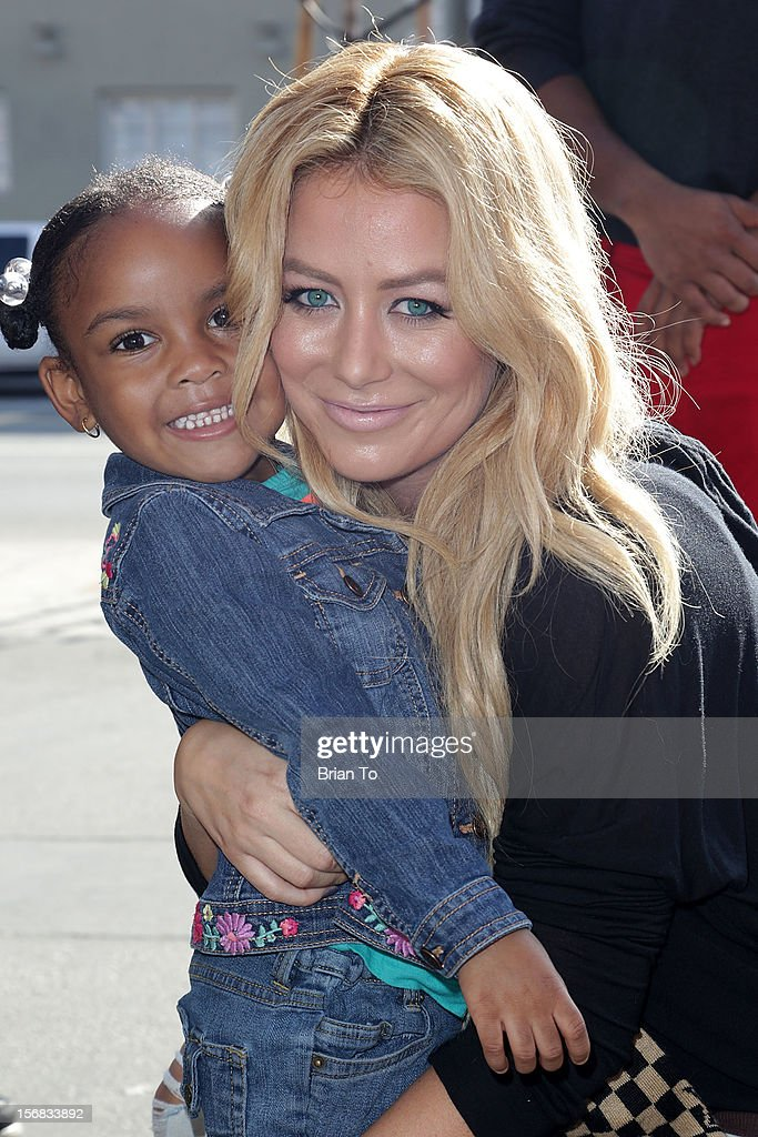 <a gi-track='captionPersonalityLinkClicked' href=/galleries/search?phrase=Aubrey+O%27Day&family=editorial&specificpeople=570062 ng-click='$event.stopPropagation()'>Aubrey O'Day</a> attends PATH's 4th Annual Thanksgiving Meal at Pink Taco on November 22, 2012 in Los Angeles, California.