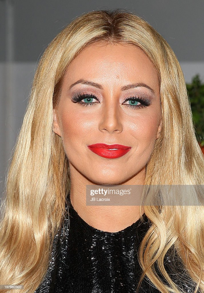 Aubrey O'Day attends the Voli Light Vodka Benefit at SkyBar at the Mondrian Los Angeles on December 6, 2012 in West Hollywood, California.
