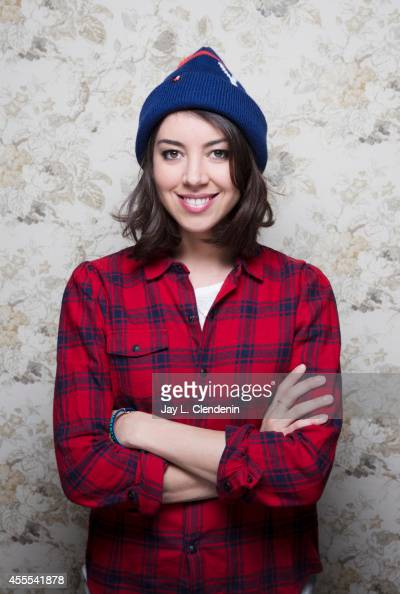 Aubrey Plaza is photographed for Los Angeles Times on January 18 2014 in Park City Utah PUBLISHED IMAGE CREDIT MUST READ Jay L Clendenin/Los Angeles...