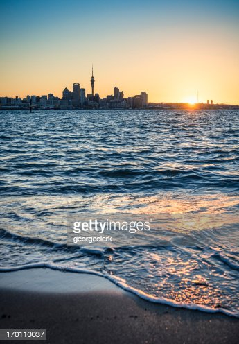 Auckland at Sunset