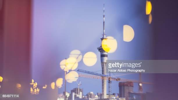 Auckland City Lights.