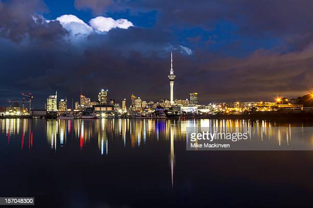 Auckland city reflections