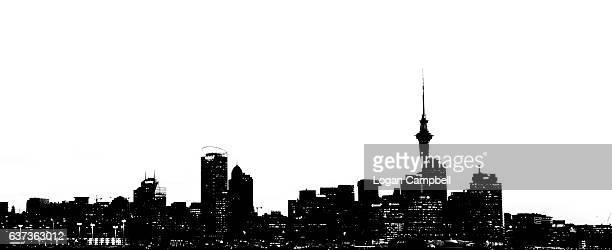 Auckland  City silhouette