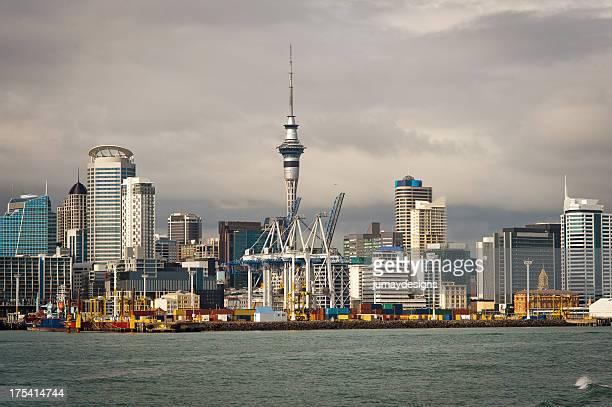 Auckland Cloudy Skyline