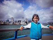Auckland harbour ferry.
