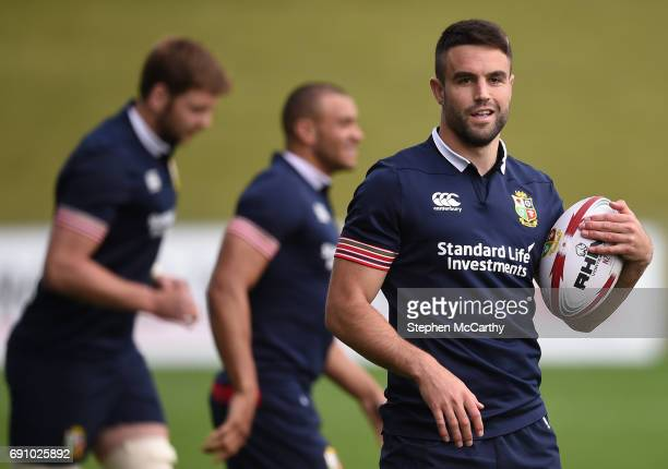 Auckland New Zealand 1 June 2017 Conor Murray of the British and Irish Lions during a training session at the QBE Stadium in Auckland New Zealand
