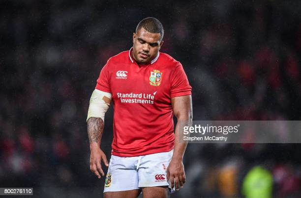 Auckland New Zealand 24 June 2017 Kyle Sinckler of the British Irish Lions following the First Test match between New Zealand All Blacks and the...