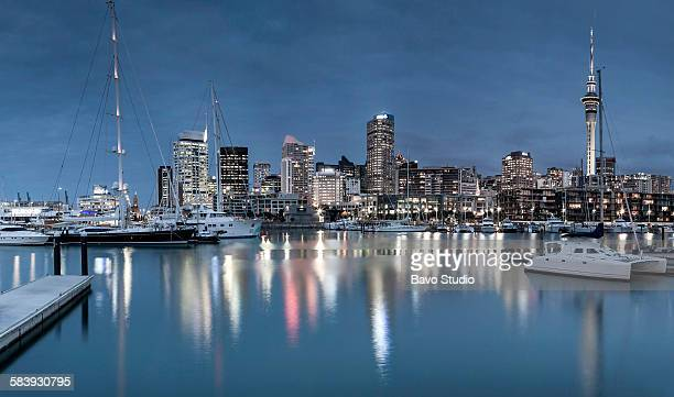 Auckland night