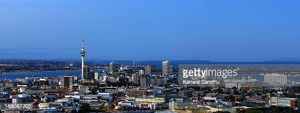 Auckland skyline looking towards North Shore