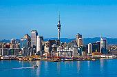 Auckland skyline with Sky Tower