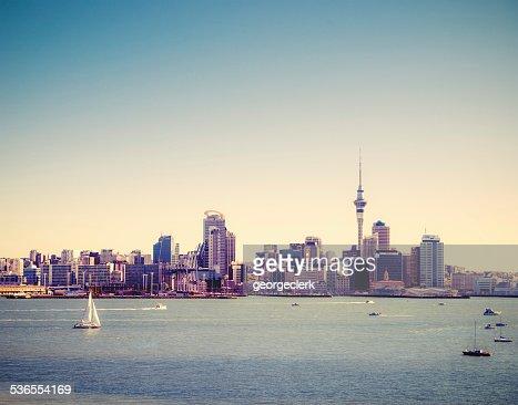 Auckland Summer Skyline