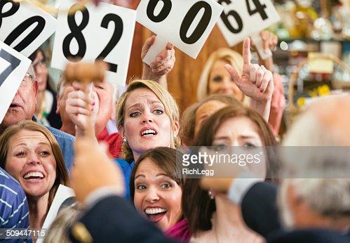 Auction Crowd