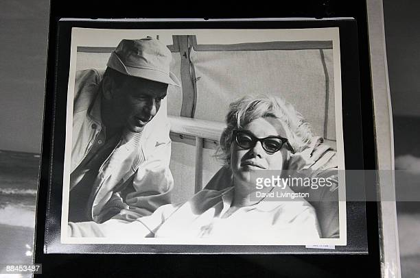 Auction item photograph of Marilyn Monroe and Frank Sinatra is displayed at Bonhams Butterfields on June 12 2009 in Los Angeles California