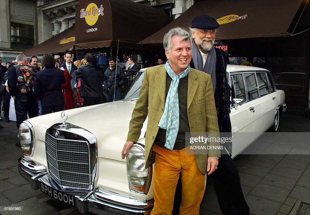 photo of John McVie Mercedes - car