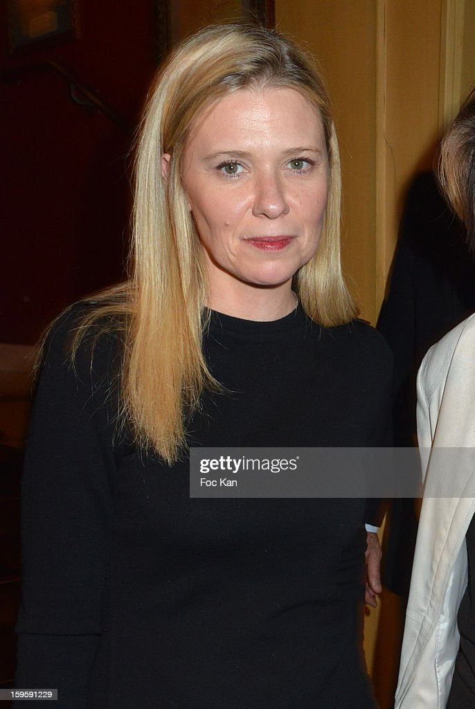 Aude Lancelin attends the 'Procope Des Lumieres 2013 ' Literary Awards Ceremony at Le Procope on January 16, 2013 in Paris, France.