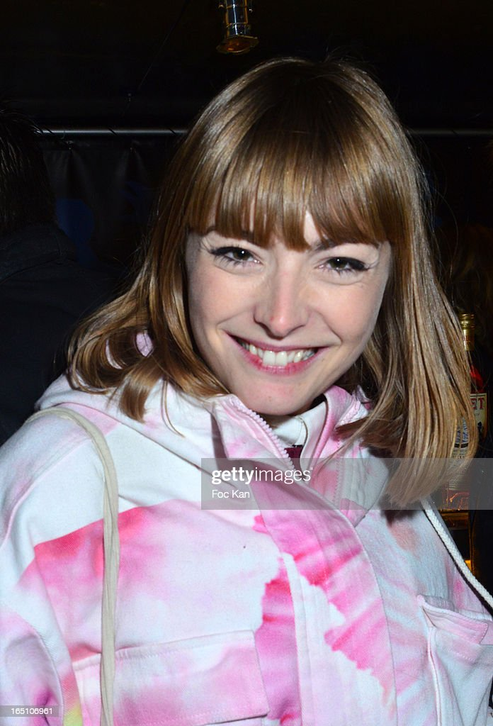 Aude Pepin attends 'Les Toiles Enchantees' Children Care Association Auction Dinner During The 50th Foire du Trone at Pelouse de Reuilly on March 29, 2013 in Paris, France.