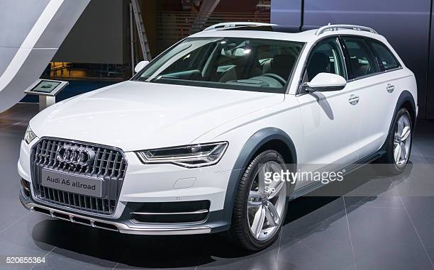 Audi A6 allroad quattro crossover estate car