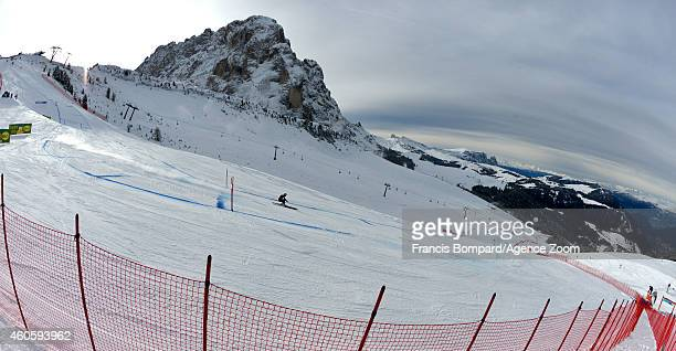 Audi FIS Alpine Ski World Cup Men's Downhill Training on December 17 2014 in Val Gardena Italy